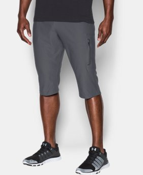 New Arrival Men's UA Elevated Knit ¾ Pants  1 Color $74.99