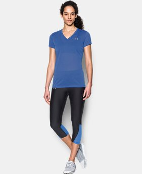 Women's UA Threadborne Train Pointelle V-Neck  1 Color $16.99 to $22.99