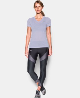 New Arrival  Women's UA Threadborne Train Pointelle V-Neck  4 Colors $39.99