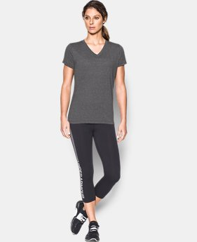 Women's UA Threadborne Train Twist V-Neck  2 Colors $35