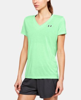 Best Seller Women's UA Threadborne Train Twist V-Neck  5  Colors Available $29.99