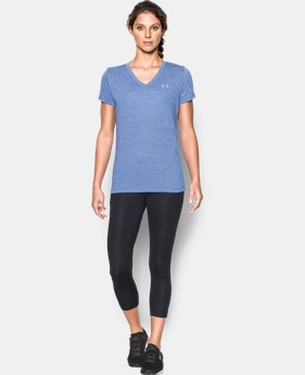 New Arrival  Women's UA Threadborne Train Twist V-Neck  2 Colors $39.99