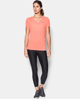 Best Seller Women's UA Threadborne Train Twist V-Neck LIMITED TIME OFFER 3 Colors $20.99