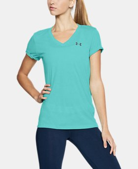 Women's UA Threadborne Train Twist V-Neck  1  Color Available $35