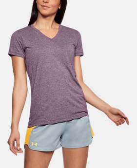 Women's UA Threadborne Train Twist V-Neck  9  Colors $35