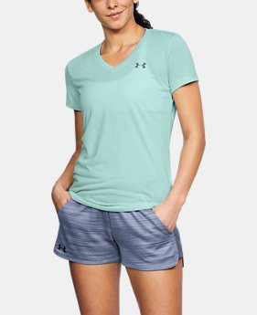 Women's UA Threadborne Train Twist V-Neck  8 Colors $35