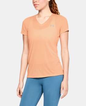 Best Seller Women's UA Threadborne Train Twist V-Neck  8  Colors Available $29.99