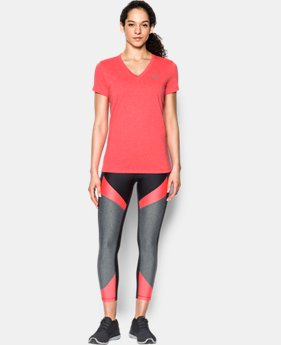 Best Seller Women's UA Threadborne Train Twist V-Neck  1 Color $29.99