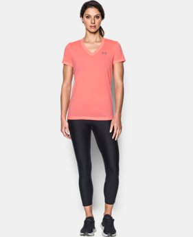 Best Seller Women's UA Threadborne Train Twist V-Neck LIMITED TIME OFFER 4 Colors $20.99