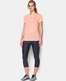 Women's UA Threadborne Train Stripe Crew  1 Color $29.99