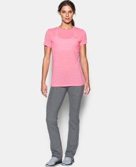 Women's UA Threadborne Train Stripe Crew LIMITED TIME OFFER 1 Color $27.99