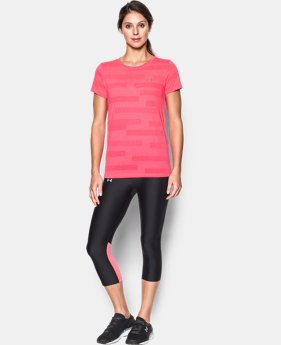 Women's UA Threadborne Train Jacquard Crew LIMITED TIME OFFER 1 Color $20.99