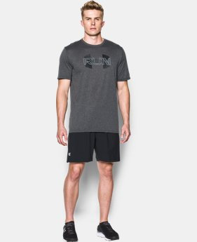 New Arrival Men's UA Run Overlap T-Shirt   $27.99