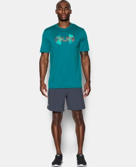 New Arrival Men's UA Run Overlap T-Shirt  1 Color $27.99
