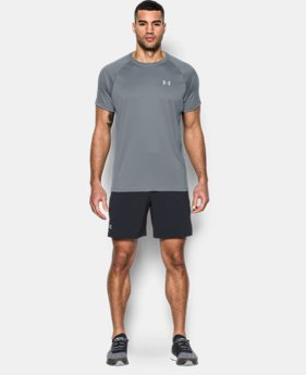 Men's HeatGear® Run Short Sleeve T-Shirt  1 Color $29.99