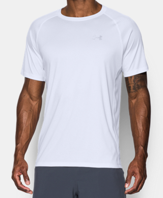 Men's HeatGear® Run Short Sleeve T-Shirt