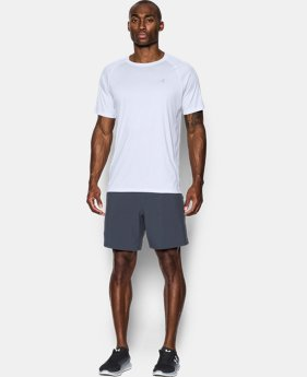 Men's HeatGear® Run Short Sleeve T-Shirt  1  Color Available $27.99