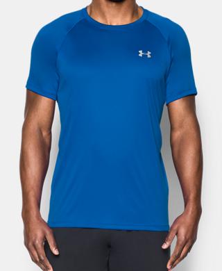 Men's HeatGear® Run Short Sleeve T-Shirt