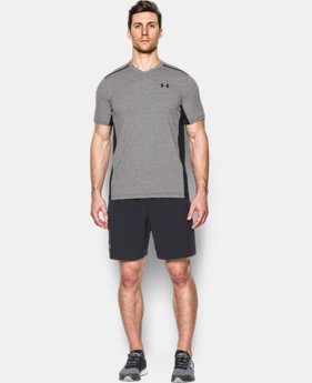 New to Outlet Men's UA Threadborne Center Court V-Neck  1 Color $44.99