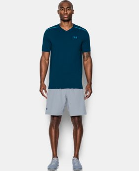 Men's UA Threadborne Center Court V-Neck  1 Color $33.74