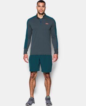 New to Outlet Men's UA Threadborne Center Court ¼ Zip  LIMITED TIME OFFER 1 Color $48.99
