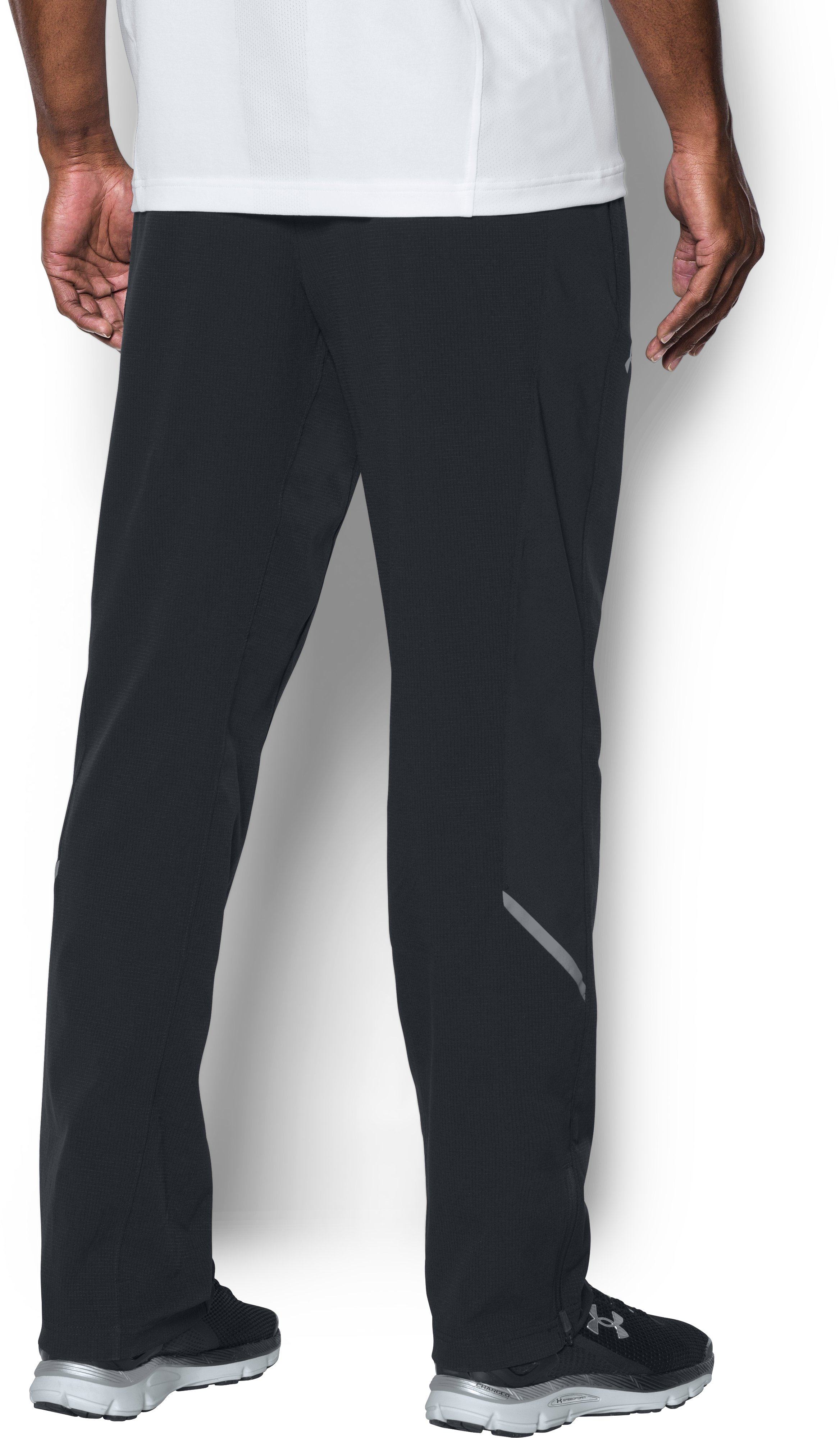 Men's UA Center Court Pants , Black ,