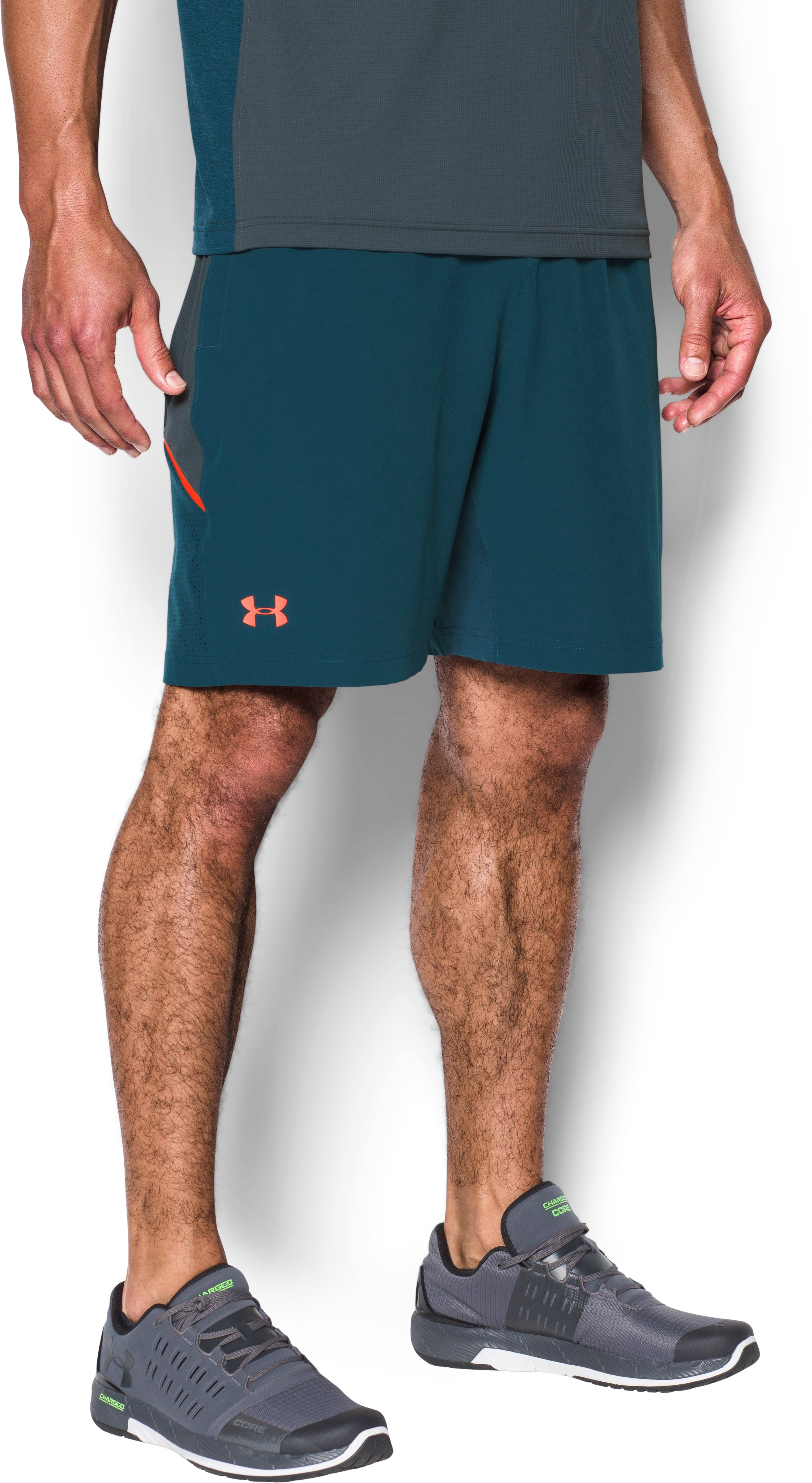 Men's UA Center Court Shorts , TRUE INK