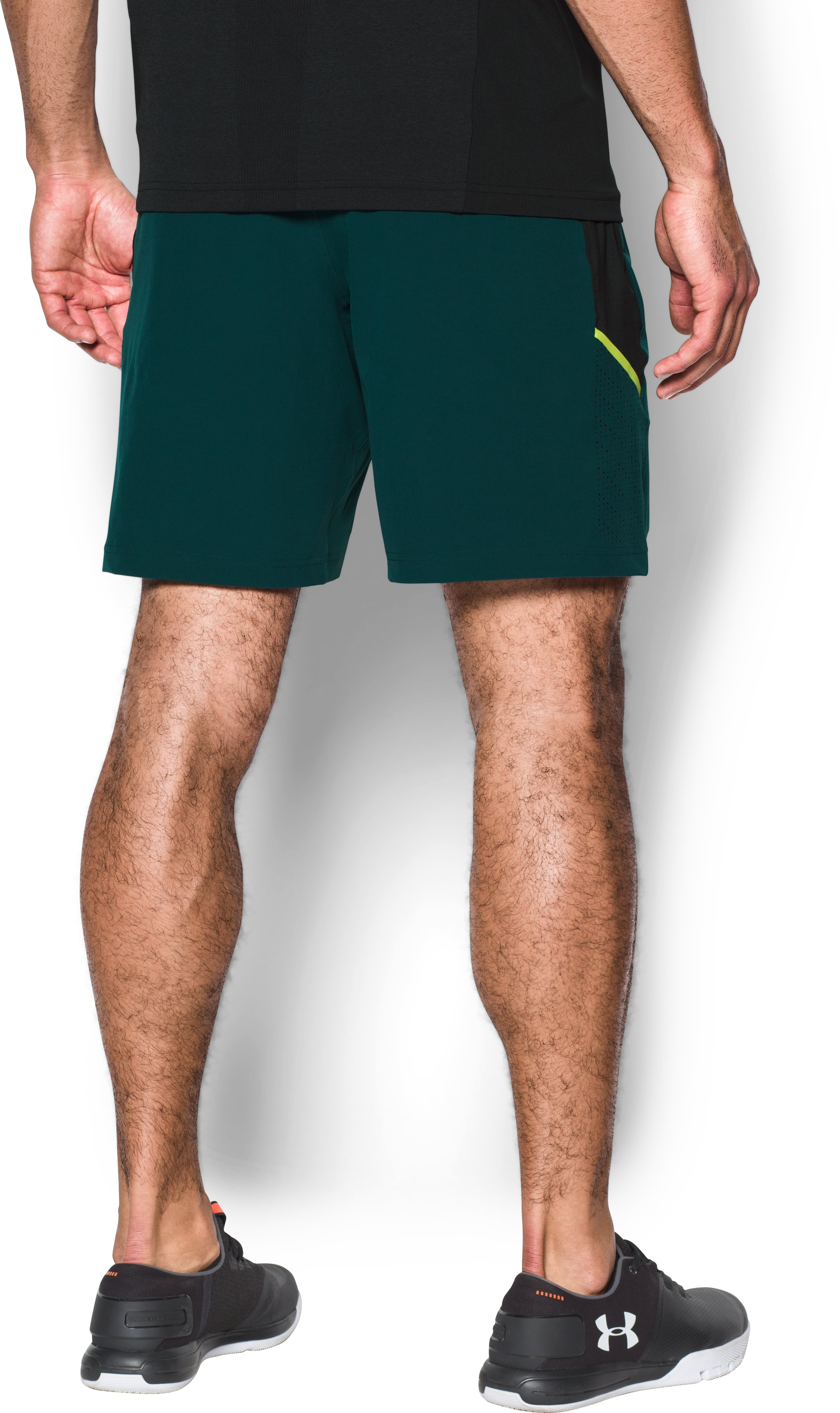 Men's UA Center Court Shorts , ARDEN GREEN