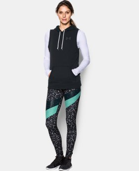 Women's UA Favorite Fleece Word Mark Vest LIMITED TIME OFFER + FREE U.S. SHIPPING 1 Color $33.74
