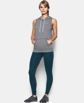 Women's UA Favorite Fleece Word Mark Vest  1 Color $49.99