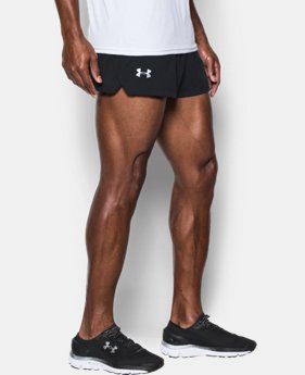 Men's UA Launch Split Shorts  1  Color Available $39.99