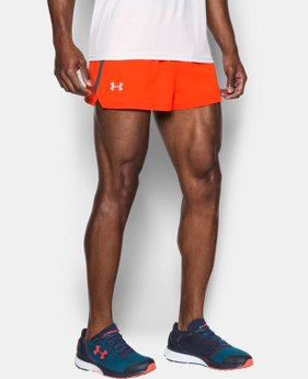 Men's UA Launch Split Shorts  1 Color $20.99 to $24.99