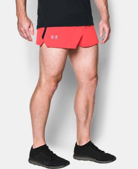 Men's UA Launch Split Shorts  1 Color $34.99