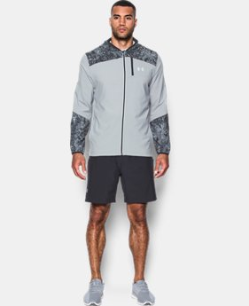 Men's UA Storm Run Printed Jacket  1 Color $79.99