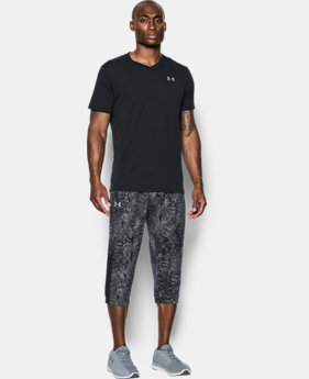 Men's UA Storm Run ¾ Pants  1  Color Available $38.99