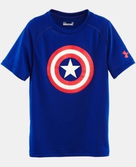 Boys' Pre-School Under Armour® Alter Ego Captain America T-Shirt