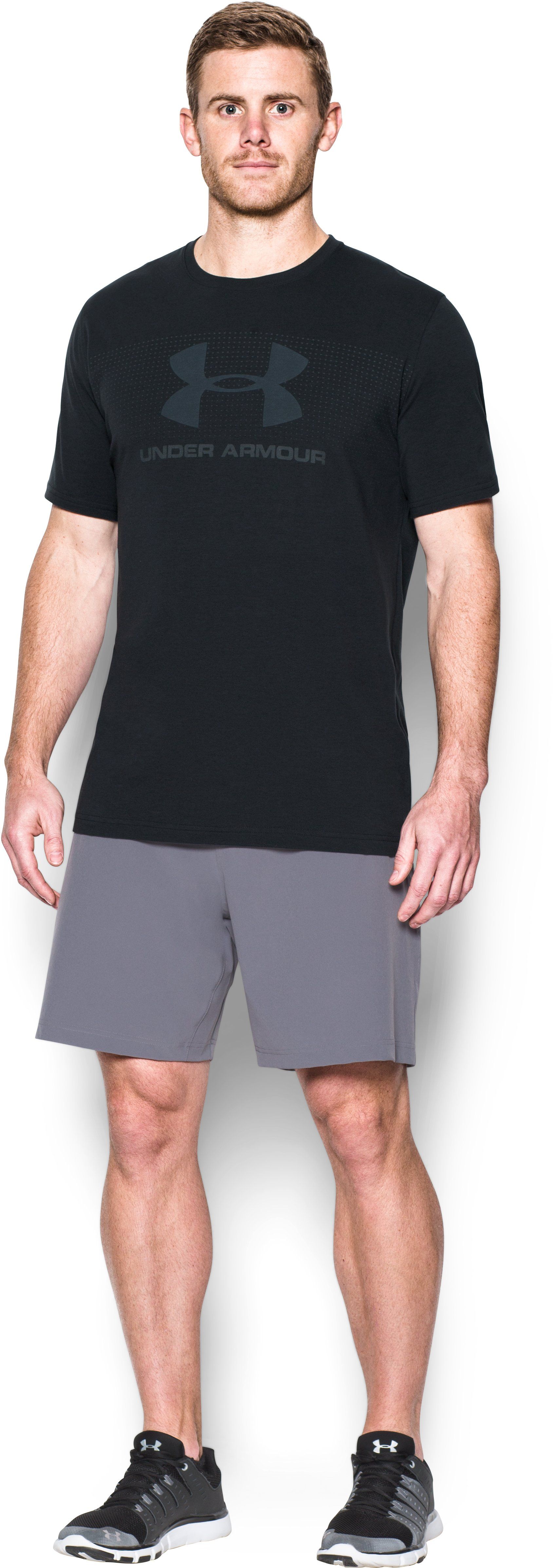 Men's UA Sportstyle KO T-Shirt, Black
