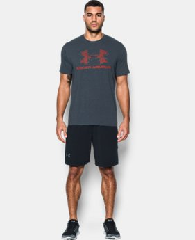Men's UA Blow Out Logo T-Shirt  1 Color $17.99