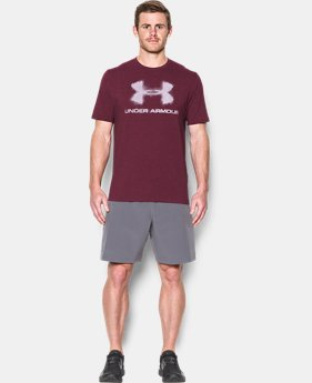 Men's UA Chalked Logo T-Shirt  1 Color $17.99
