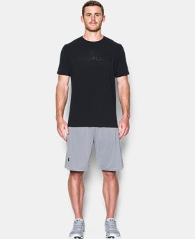 Men's UA Mesh Gel Wordmark T-Shirt  1 Color $18.99
