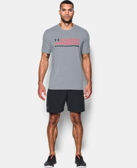 Men's UA Wordmark Lockup T-Shirt  3 Colors $24.99