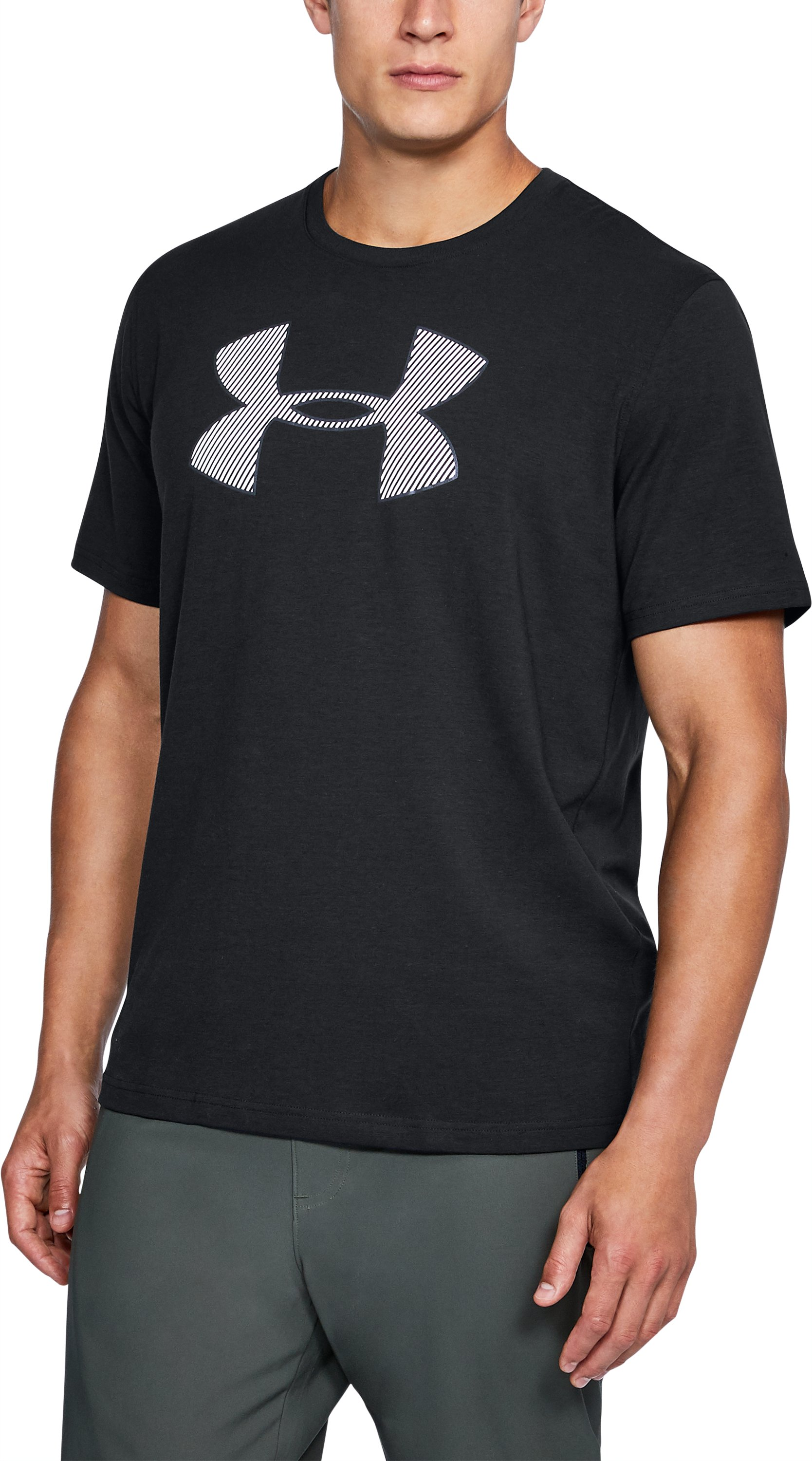Men's UA Big Logo T-Shirt, Black ,
