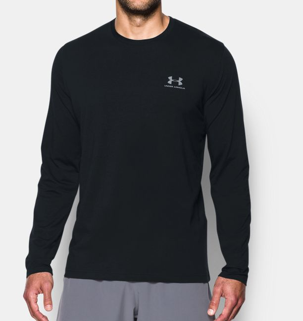 Men's UA Chest Logo Long Sleeve T-Shirt | Under Armour US