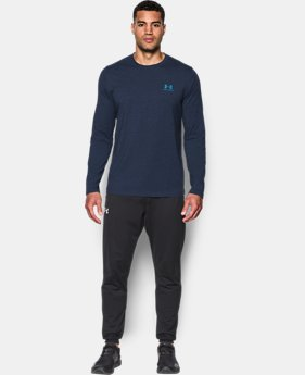 Men's UA Chest Logo Long Sleeve T-Shirt   1 Color $34.99