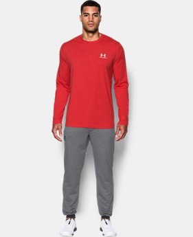 Best Seller  Men's UA Chest Logo Long Sleeve T-Shirt   2 Colors $34.99