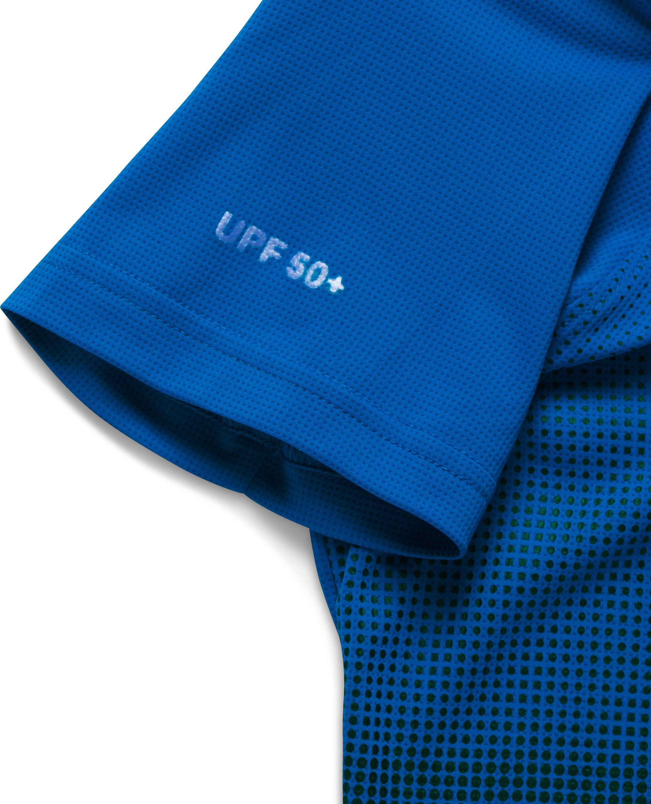 Boys' UA The 50 Short Sleeve, ULTRA BLUE,