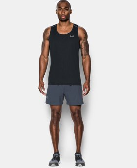 Men's UA CoolSwitch Run Singlet  2 Colors $26.99 to $31.99