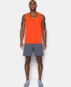 New Arrival Men's UA CoolSwitch Run Singlet  1 Color $44.99