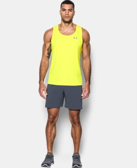 Men's UA CoolSwitch Run Singlet  1 Color $26.99 to $31.99