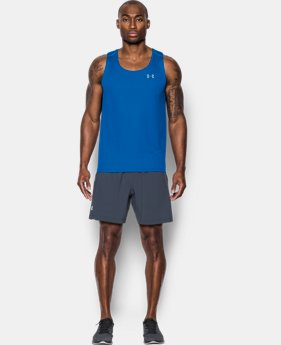 Men's UA CoolSwitch Run Singlet  1 Color $23.99